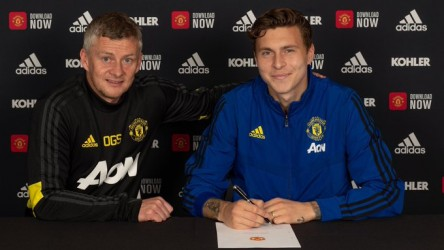Lindelof renueva con el Manchester United hasta 2024