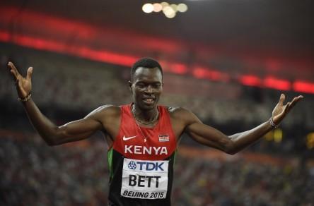 Muere en accidente de tráfico el campeón mundial keniano Nicholas Bett