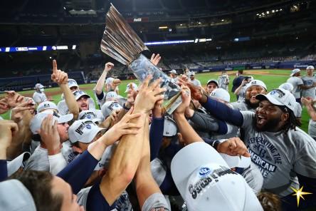 Rays van a la Serie Mundial; Dodgers empata la serie a Bravos (Resumen)