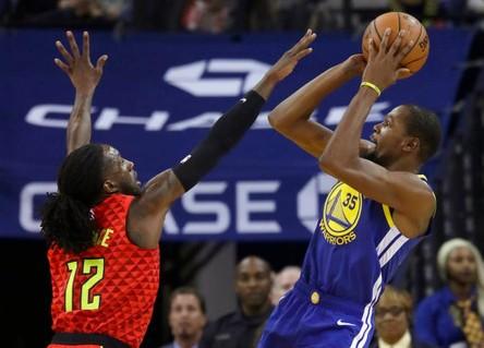 Warriors recuperan imagen de campeones y Rockets de ganadores (Resumen)