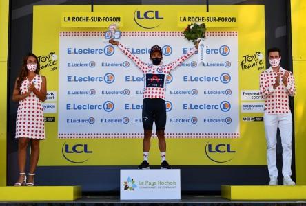 Carapaz, líder de la Montaña en el Tour de Francia