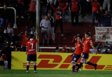 Independiente se clasificó y consumó el pleno argentino a octavos