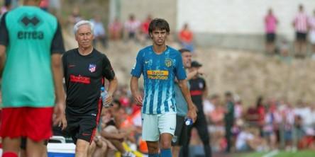 Joao Félix, sustituido por una contusión en su debut con el Atlético