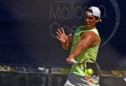 Nadal y Munar, tenis de alto nivel en la hierba del Mallorca Open