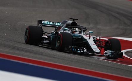 Hamilton logra la 'pole' en Austin y Vettel arrancará quinto