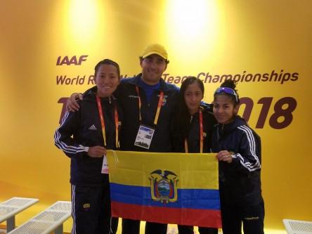El mexicano Palma y la peruana Inga ganan los títulos en 50 kilómetros