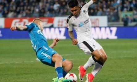 Cristian Ramírez, titular en derrota del Krasnodar