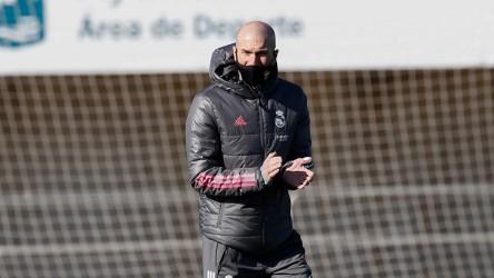 Zidane dio positivo para Covid-19