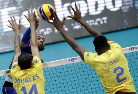 Holanda frena a Brasil en el Mundial de voleibol