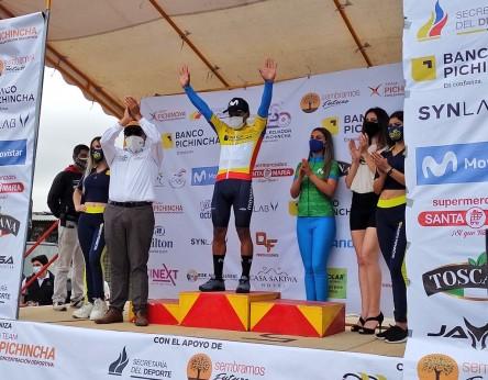 Cristian Toro gana la primera etapa de la Vuelta al Ecuador