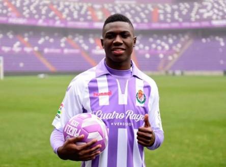 Stiven Plaza será cedido por el Real Valladolid