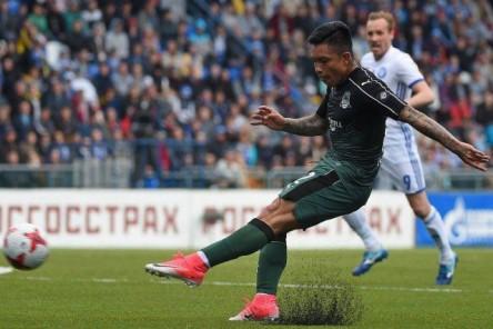 Ramírez fue expulsado en la derrota de Krasnodar (VIDEO)