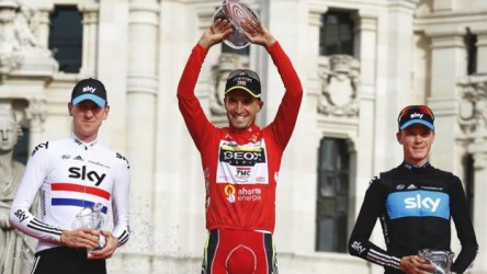 Froome ya es ganador de la Vuelta 2011