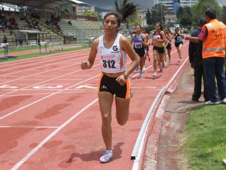 Deportistas de Colombia, Perú y Ecuador en Grand Prix de atletismo en Cuenca