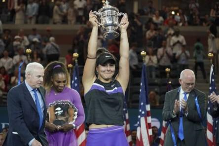 Bianca Andreescu entra al Top 5 del mundo