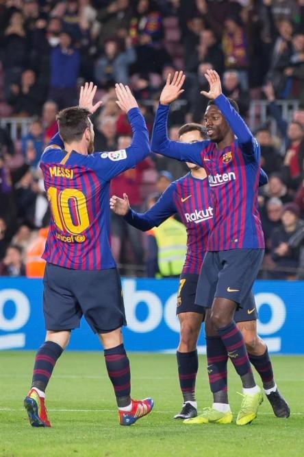 Messi cierra la cuenta y el Barça se mete en cuartos de final