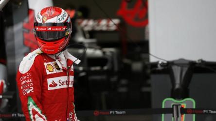 Kimi Raikkonen renueva una temporada con Ferrari