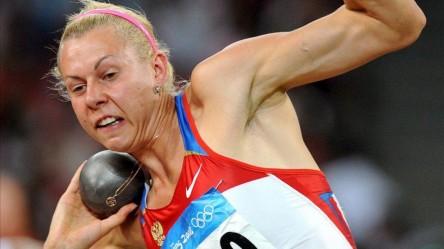 El COI descalifica a la rusa Chernova, bronce en heptalón en Pekín 2008