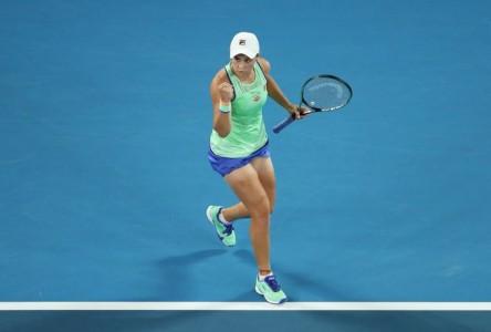 Barty, Osaka y Serena, en dos sets a tercera ronda