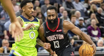 Harden sigue imparable y los Spurs pierden en el debut de Duncan