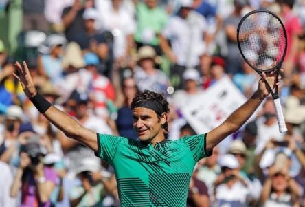 Nadal y Federer siguen firmes en Miami, donde Zverev eliminó a Wawrinka (Resumen)