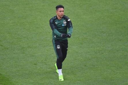 Ramírez fue titular en la caída del Krasnodar por clasificación a Champions