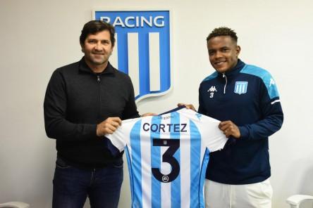 Racing Club oficializó contratación de Gustavo Cortez