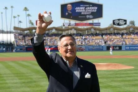 Dodgers honran a ecuatoriano Jaime Jarrín, voz hispana de las Grandes Ligas
