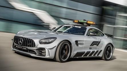 El Mercedes-AMG GT R será el coche de seguridad oficial de Fórmula 1 en 2018