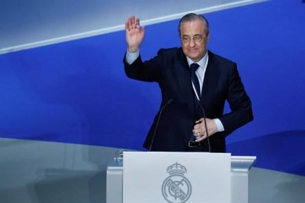 Florentino recuerda agradecido a Cristiano Ronaldo y Zidane