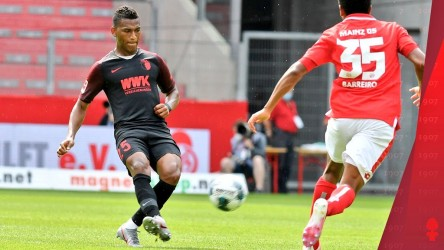 Augsburg de Gruezo supera al Borussia Dortmund