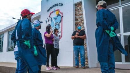 Complejo de Manta FC es utilizado por personal que combate coronavirus