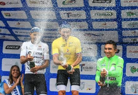 Sevilla gana, Chalapud y Guamá completan el podio de la Vuelta a Ecuador