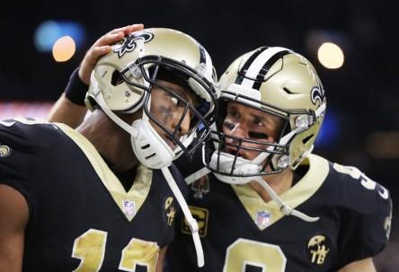 Los Saints apuestan por Brees y Thomas ante la gran defensa de los Rams