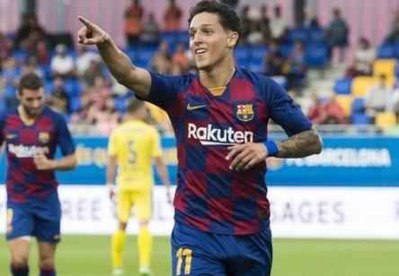Saverio debutó en el primer equipo culé