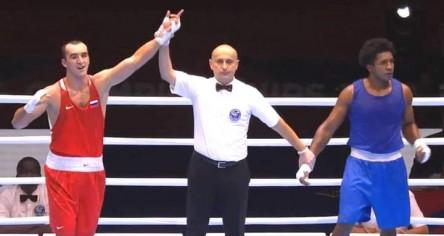 Julio Castillo obtuvo la medalla de plata en el Mundial de boxeo