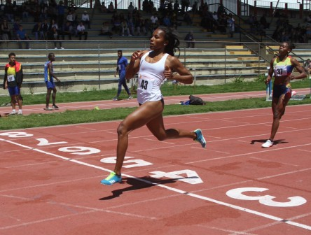 Deportistas de Chile, Ecuador y Perú en Grand Prix Sudamericano de atletismo