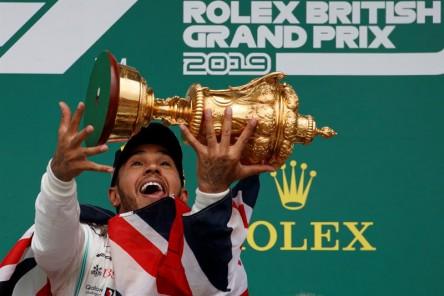 Lewis Hamilton se convirtió en el nuevo rey de Silverstone