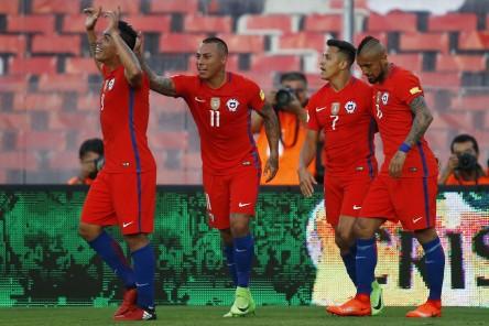 (3-1) Chile gana a Venezuela y se mete en zona de clasificación directa