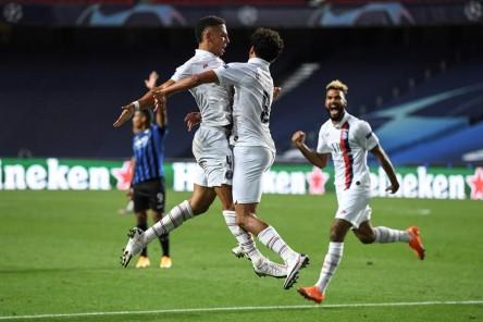 (1-2) PSG destruye en el añadido el sueño de Atalanta y vuela a semifinales