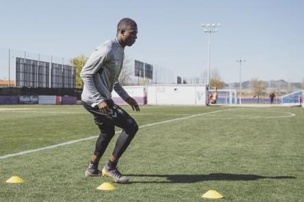 Stiven Plaza podría reaparecer la próxima semana en el Real Valladolid