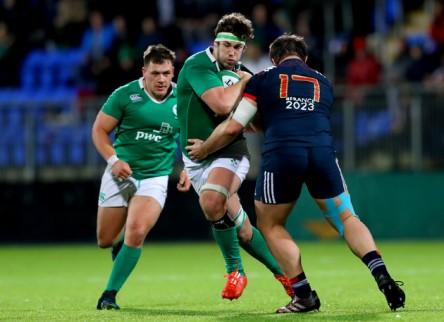Irlanda se hace fuerte en Dublín y acaba con las esperanzas de Francia