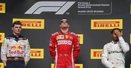 Raikkonen gana en Austin y hace esperar a Hamilton