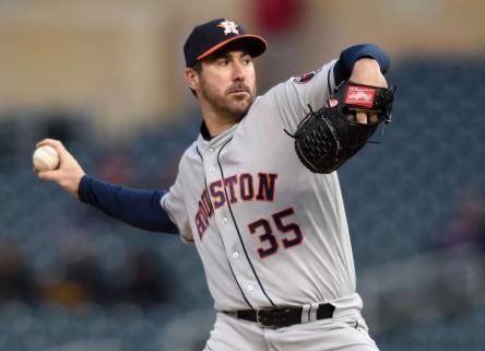 Los Astros y Verlander acuerdan firmar extensión de contrato
