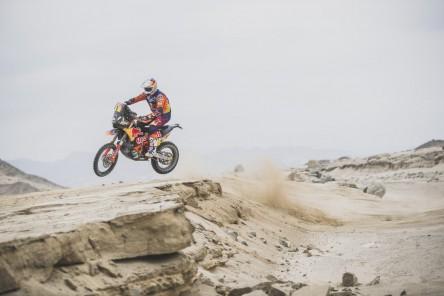 Price y Quintanilla se jugarán el Dakar en la última etapa