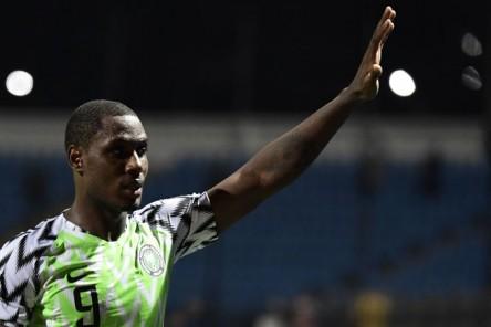 Odion Ighalo, 'pichichi' de la Copa África, se retira de selección nigeriana