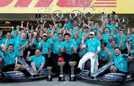 Mercedes gana su sexto Mundial de Constructores a cuatro carreras del final
