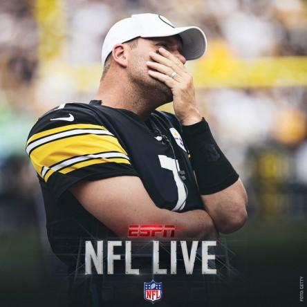 Steelers pierden a Big Ben para el resto de la temporada por lesión de codo