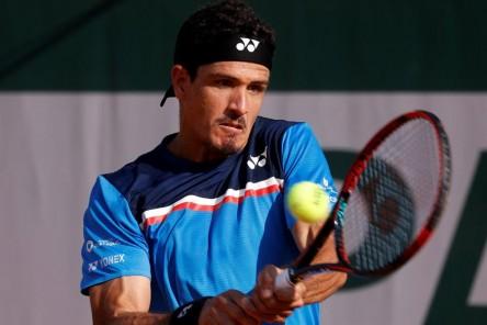 Gómez enfrentará a Sonego en su debut en Rolad Garros