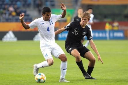 (5-0) Nueva Zelanda vapulea a una inofensiva Honduras